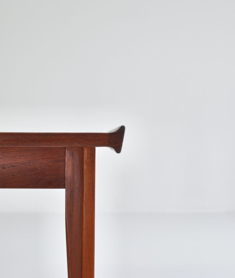 Finn Juhl Pair of Side Tables in Solid Teakwood by France & Son, 1959 For Sale 10
