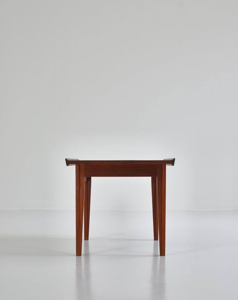 Finn Juhl Pair of Side Tables in Solid Teakwood by France & Son, 1959 In Good Condition For Sale In Odense, DK