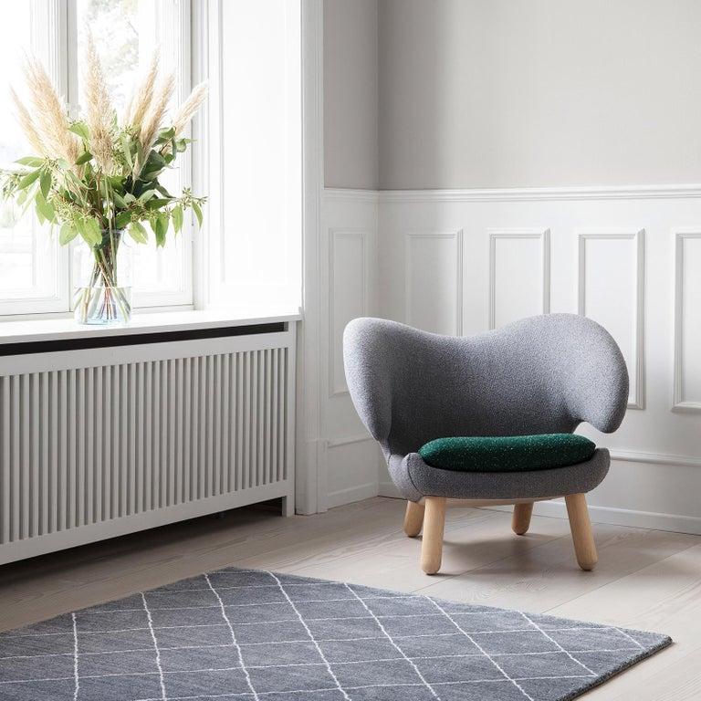 Finn Juhl Pelican Chair Grey Divina Melange For Sale 3