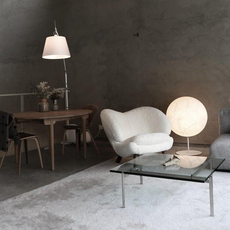 Finn Juhl Pelican Chair Grey Divina Melange For Sale 2