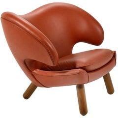 Finn Juhl Pelican Chair in Leather