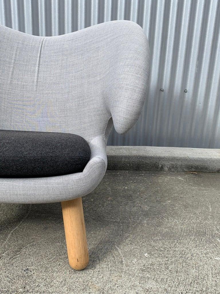 Scandinavian Modern Finn Juhl Pelican Chairs, a Pair