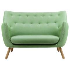Finn Juhl Poet Green Upholstered Sofa