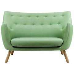 Finn Juhl Poet Green Uphoslstered Sofa