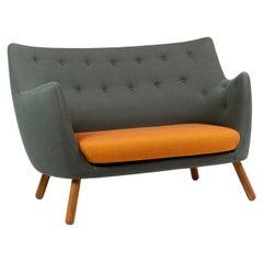 Finn Juhl Poet Sofa, Fabric and Wood