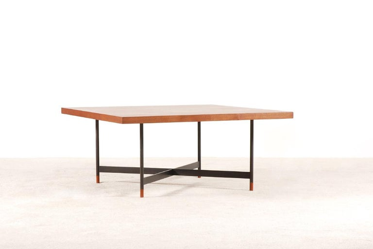 Finn Juhl, Rare Teak Coffee Table FJ-57, 1950s 2