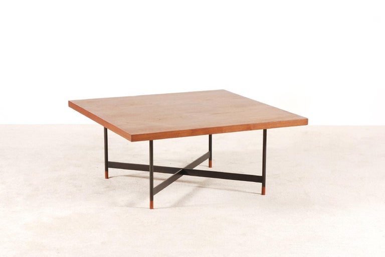 Finn Juhl, Rare Teak Coffee Table FJ-57, 1950s 4