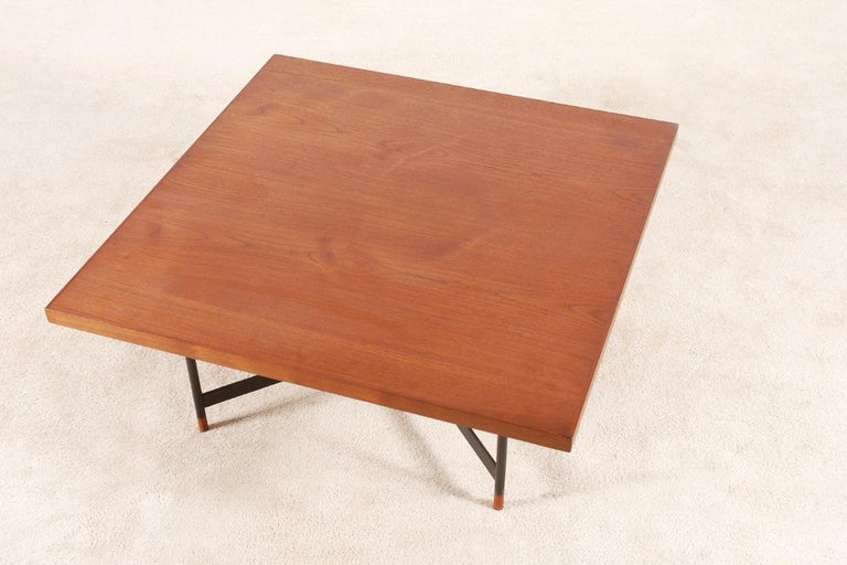 Finn Juhl, Rare Teak Coffee Table FJ-57, 1950s 5