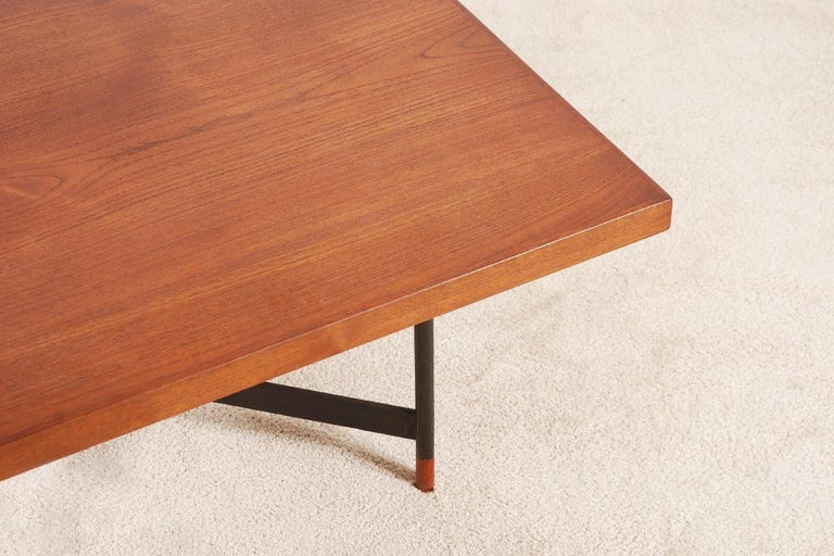 Finn Juhl, Rare Teak Coffee Table FJ-57, 1950s 6