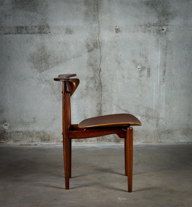 Finn Juhl Reading Chair In Excellent Condition For Sale In Los Angeles, CA