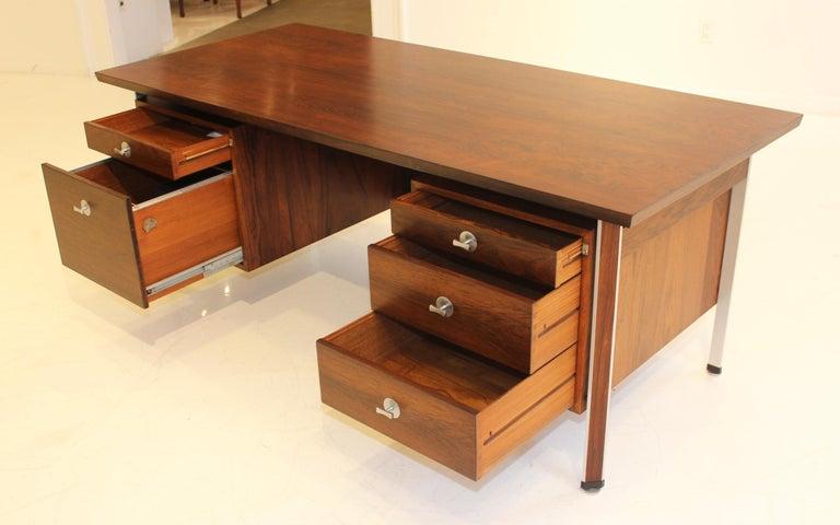 20th Century Finn Juhl Rosewood Executive Desk For Sale