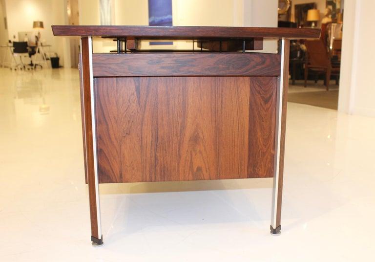 Finn Juhl Rosewood Executive Desk For Sale 3