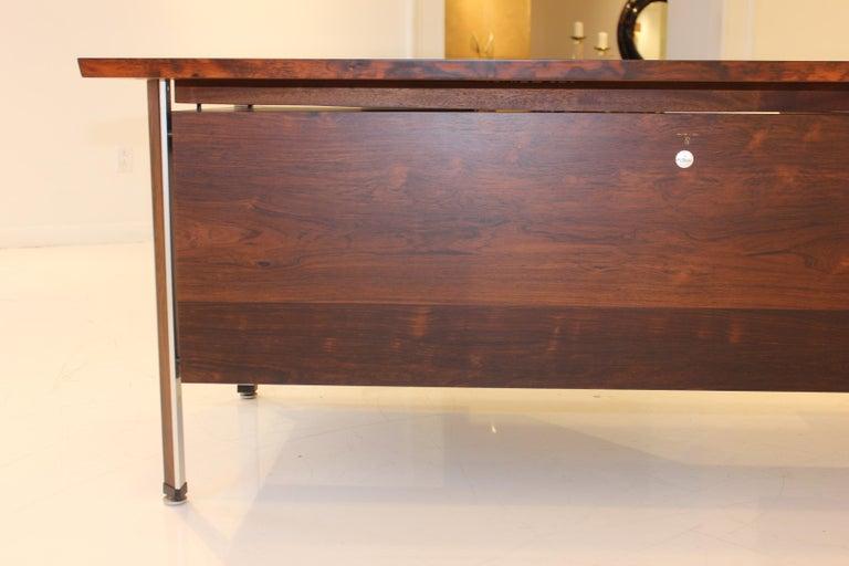 Finn Juhl Rosewood Executive Desk For Sale 4