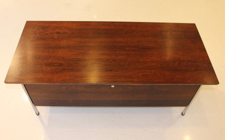 Finn Juhl Rosewood Executive Desk For Sale 9
