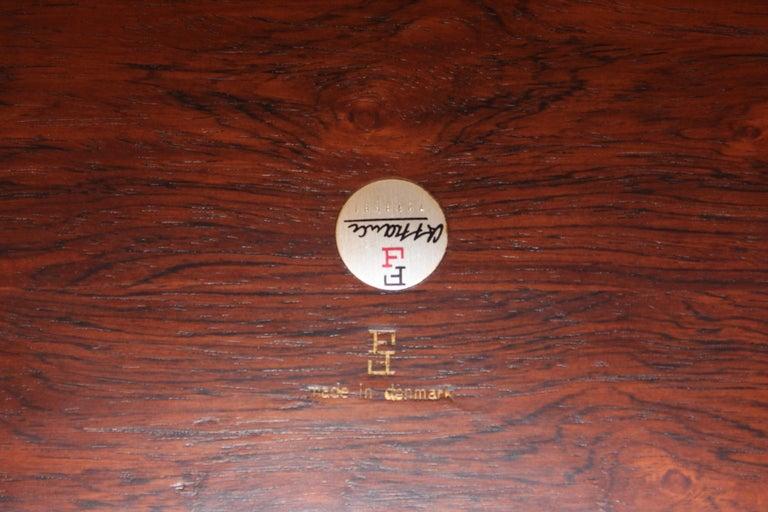 Finn Juhl Rosewood Executive Desk For Sale 12