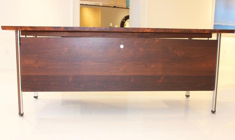 Finn Juhl Rosewood Executive Desk For Sale 2
