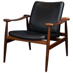 Finn Juhl Rosewood Spade Chair Model FD133