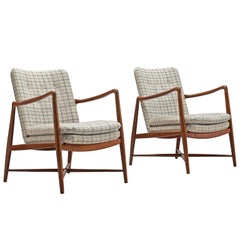 Finn Juhl Set of 'Westermanns' Fireplace Chairs in Teak