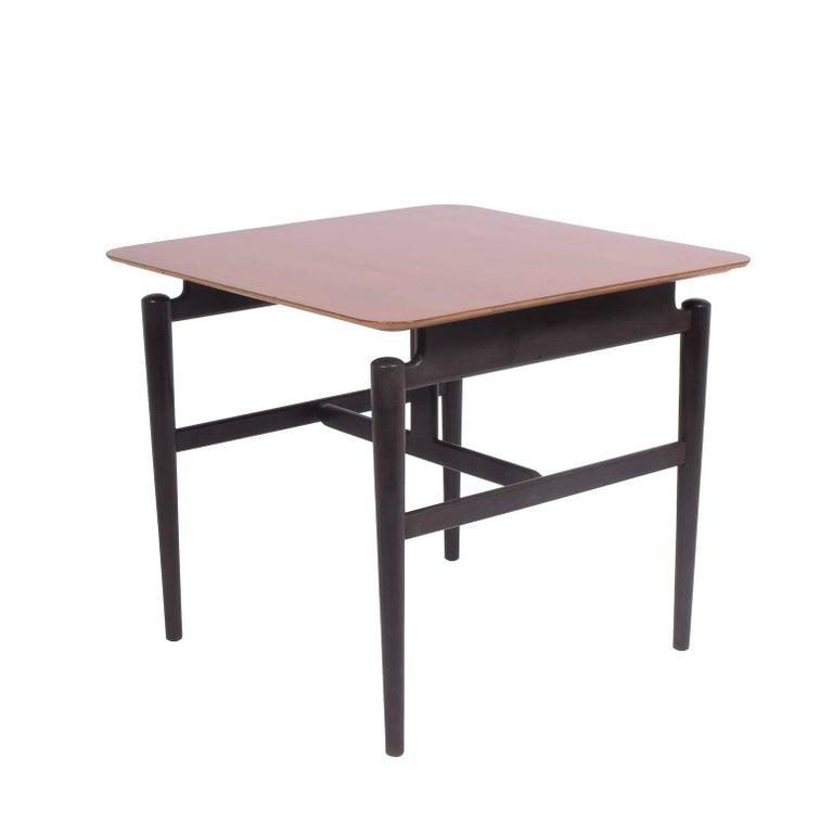 Scandinavian Modern Finn Juhl Side Table #527 for Baker For Sale