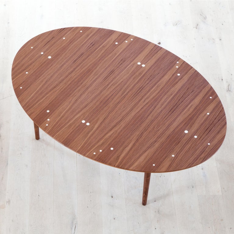 Table designed by Finn Juhl in 1948, relaunched in 2014.
