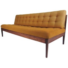 Finn Juhl Sofa in Scandinavian Rosewood Finish