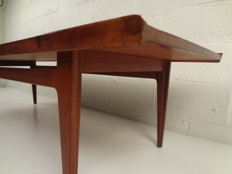 Danish Finn Juhl Sofa Table by France & Son For Sale