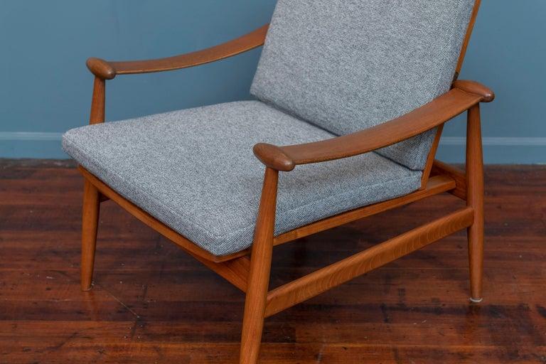 American Finn Juhl Spade Chair Model 133 for France & Daverkosen For Sale