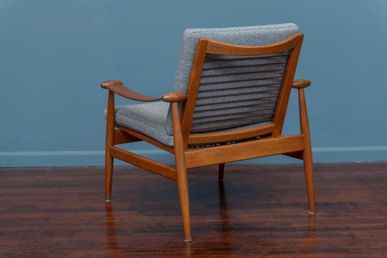 Mid-20th Century Finn Juhl Spade Chair Model 133 for France & Daverkosen For Sale