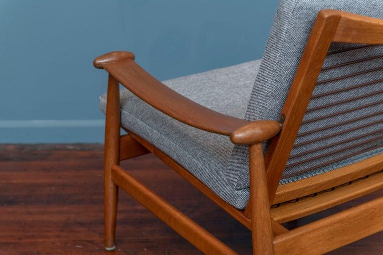Teak Finn Juhl Spade Chair Model 133 for France & Daverkosen For Sale