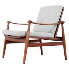 Finn Juhl, Spade Teak Lounge Chair, 1953 by France & Daverkosen, Denmark