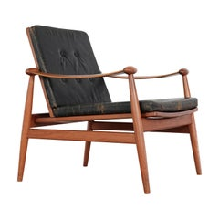 Finn Juhl, Spade Teak Lounge Chair, 1953 by France & Daverkosen, Denmark