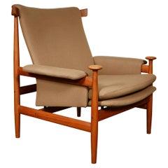 Finn Juhl Teak Bwana Lounge Chair for France and Son