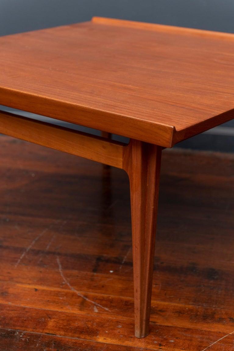 Finn Juhl design teak coffee table for France & Davoricksen, Denmark. Perfectly refinished.