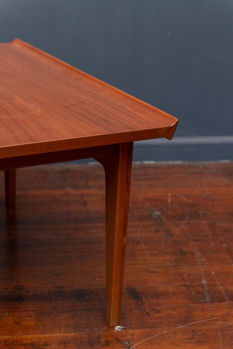 Danish Finn Juhl Teak Coffee Table For Sale