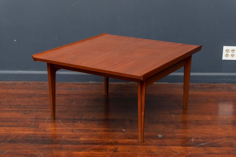Finn Juhl Teak Coffee Table In Good Condition For Sale In San Francisco, CA