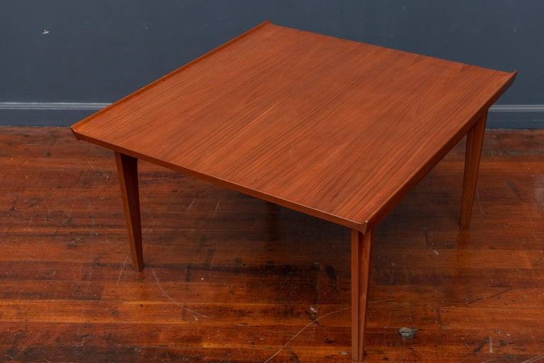 Finn Juhl Teak Coffee Table For Sale 1