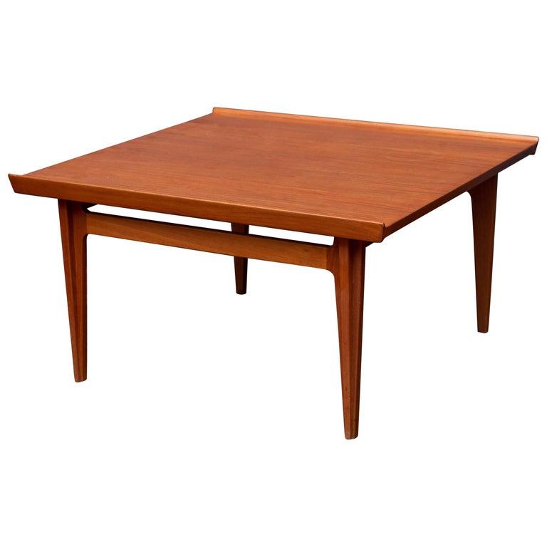 Finn Juhl Teak Coffee Table For Sale at 1stdibs