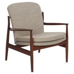 Finn Juhl Teak Lounge Chair