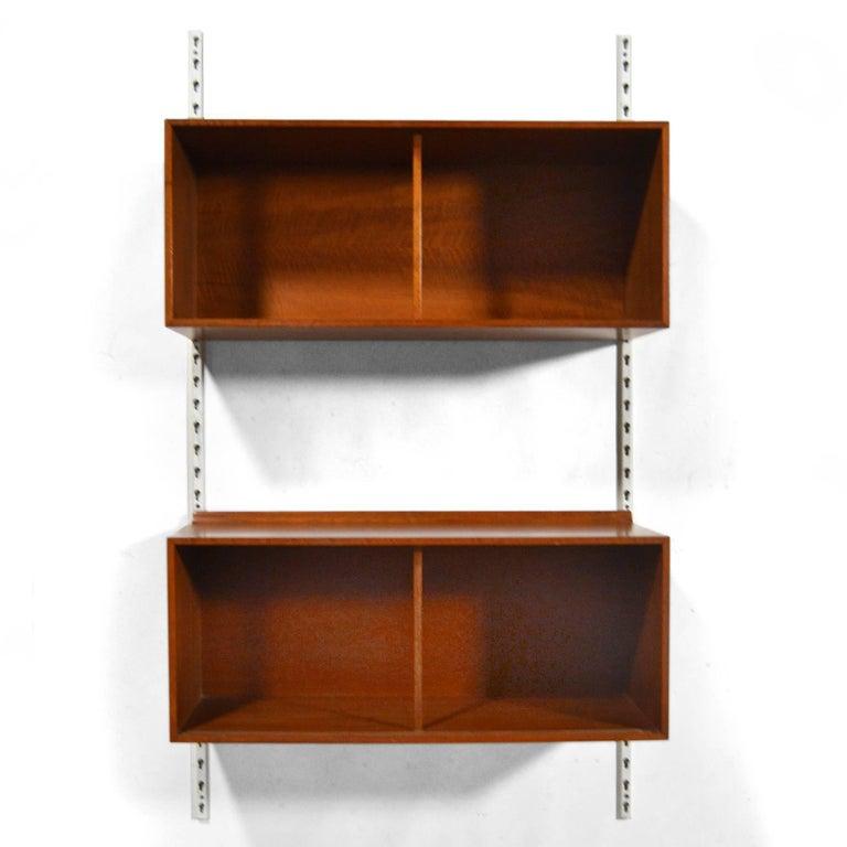 Scandinavian Modern Finn Juhl Wall-Mounted Cabinets by Baker For Sale