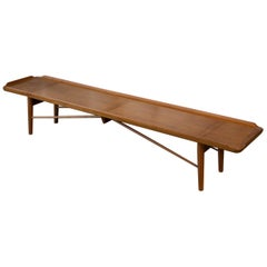 Finn Juhl Walnut Bench
