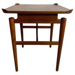 Finn Juhl Walnut End Table for Baker, USA, 1954