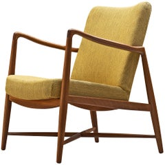 Finn Juhl 'Westermanns' Fireplace Chair in Teak
