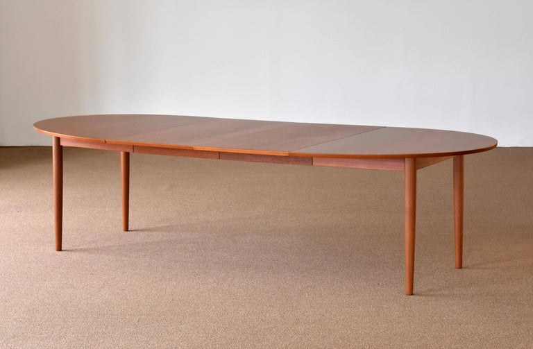 Finn Juhl large dining table, form of top suggests it's a variation of the