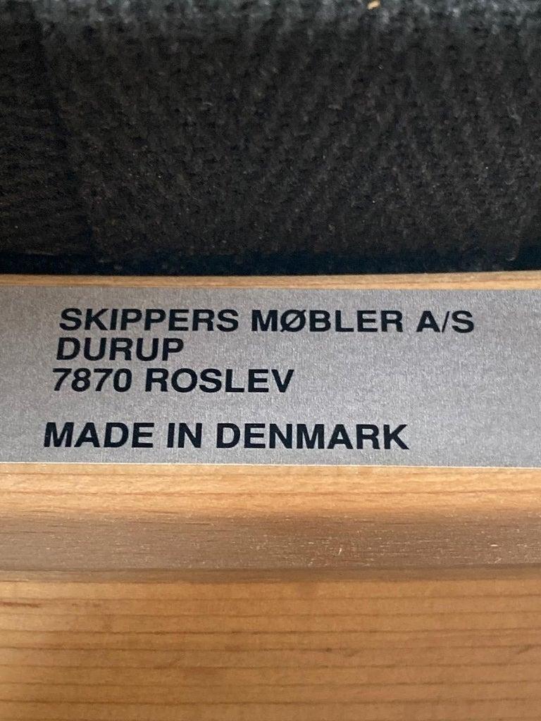 Finn Ostergaard Albert Chair Model 4100 Danish Midcentury 5