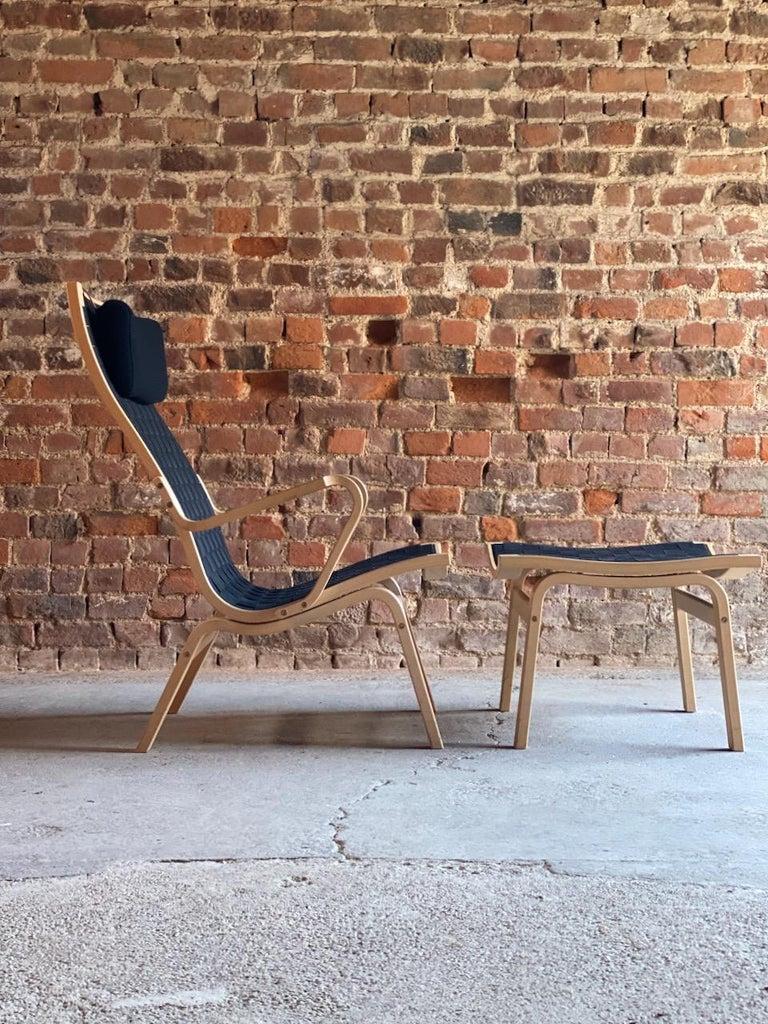 Mid-Century Modern Finn Ostergaard Albert Chair Model 4100 Danish Midcentury