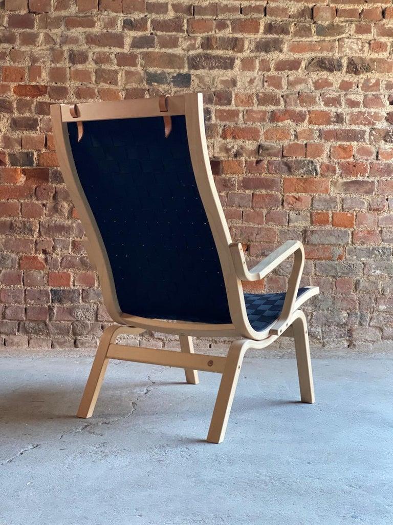 Contemporary Finn Ostergaard Albert Chair Model 4100 Danish Midcentury