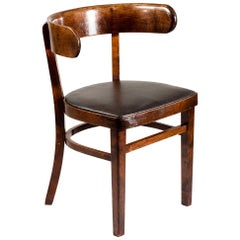 """Finnish Classic 1930s Chair """"hugging chair"""" Designed by Werner West"""