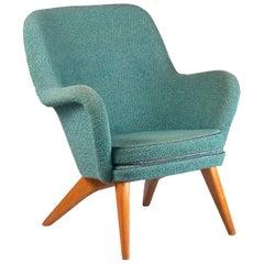 """Finnish Easy Chair """"Grand Pedro"""" by Carl-Gustaf Hiort af Ornäs, 1952"""