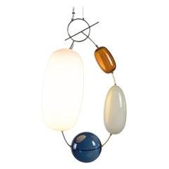 Finnish Katriina Nuutinen Mounth Blown 'Hely' Glass Pendant, Limited Edition