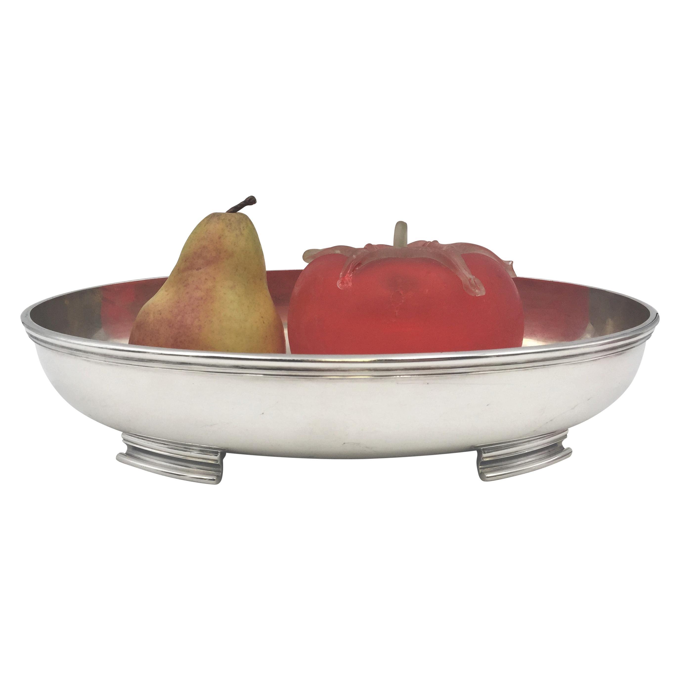 Finnish Mid-Century Modern Silver Centerpiece Bowl